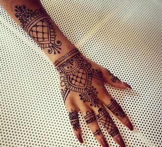 make-up henna black tattoo henna tattoo