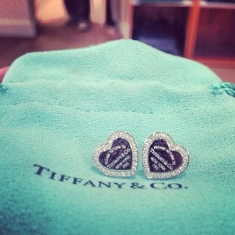 jewels earrings tiffany tiffany and co please return to tiffany