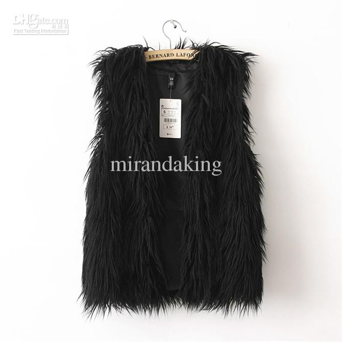 Wholesale Women Fur - Buy New Lady Korea Style Women Faux Fur Vest Shawl Fashion Apparel Adorable Short Warm Vests Kb, $36.65 | DHgate