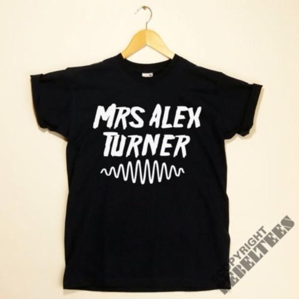 t-shirt alex turner arctic monkeys