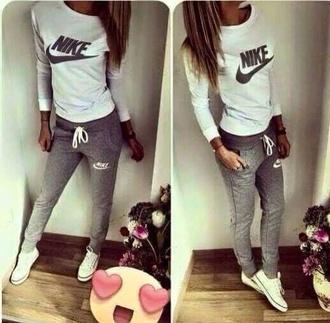 leggings white nike