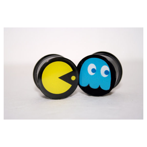 Pac Man Plugs by Plug-Club