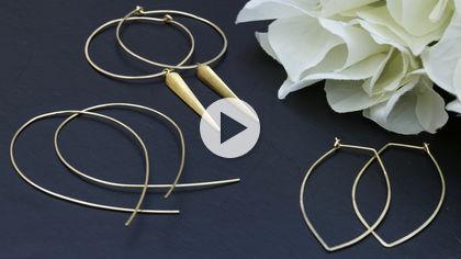 Joyus - Light-as-a-feather statement earrings