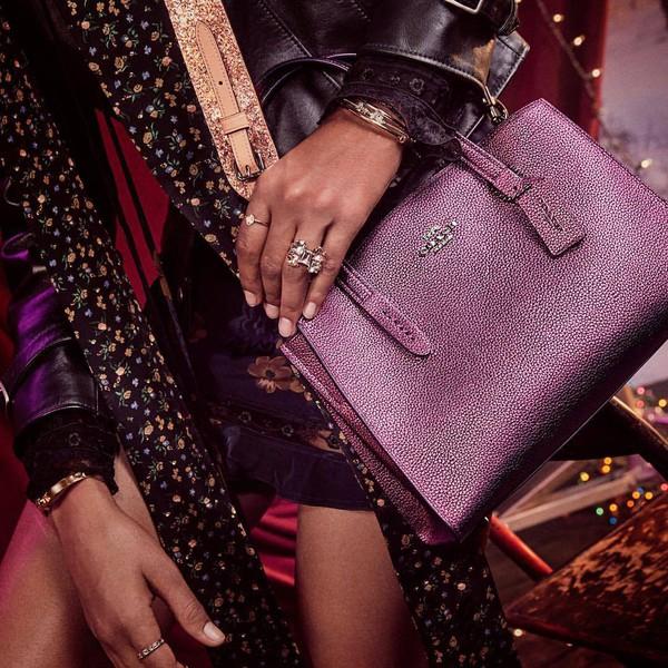bag purple bag