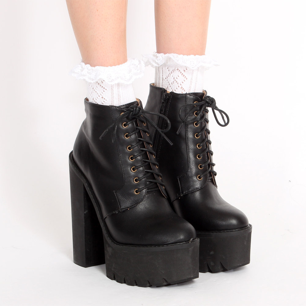 womens platform boots cr boot