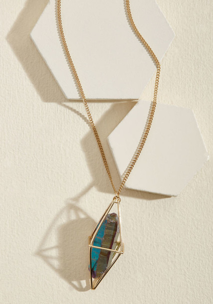 Modcloth caged necklace pendant jewels