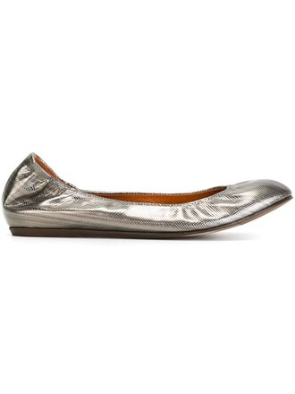 classic metallic shoes