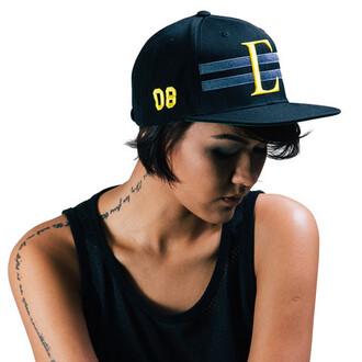 hat civil snapback cap headwear varsity