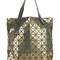 Bao bao issey miyake - geometric stud shopper tote - women - nylon/polyester/pvc - one size, grey, nylon/polyester/pvc