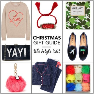 cocos tea party blogger heart sweater book smoking slippers pajamas holiday gift bathroom fur keychain love