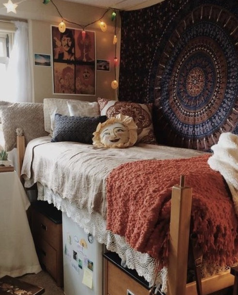 home accessory hippie tapestry mandala hippie chic hippie wall hanging boho