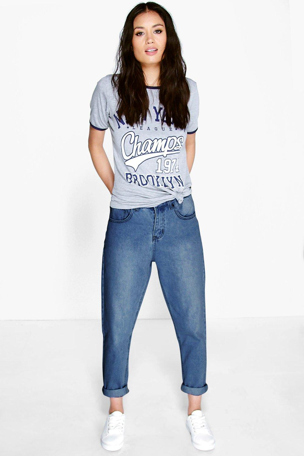 Sophie High Waisted Mid Wash Jeans