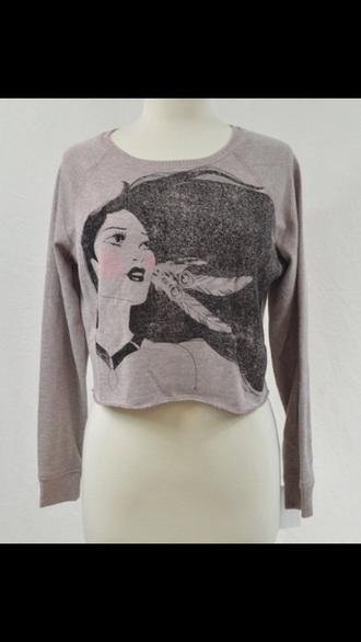 sweater disney disney sweater grey sweater pullover