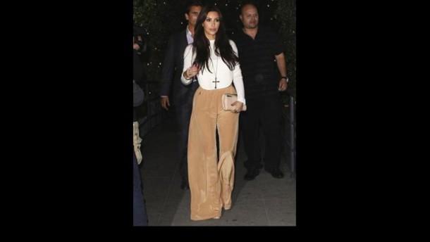 pants palazzo pants high waisted pants kim kardashian