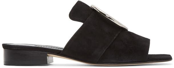 Dorateymur suede black shoes