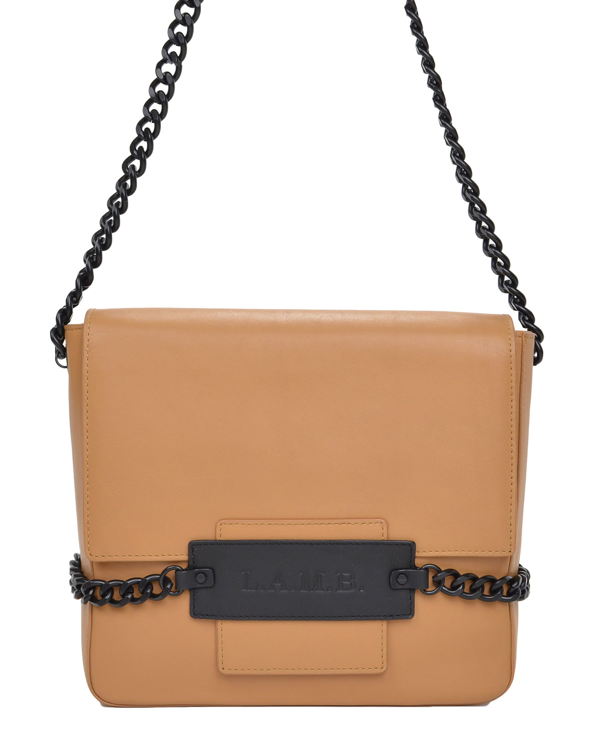 L.A.M.B. Freda Leather Shoulder Bag