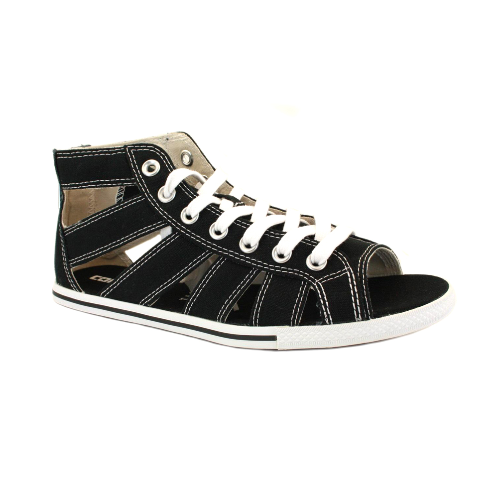 Converse Womens Zip Canvas Sandals Chuck Taylor Gladiator 537049 Black | eBay
