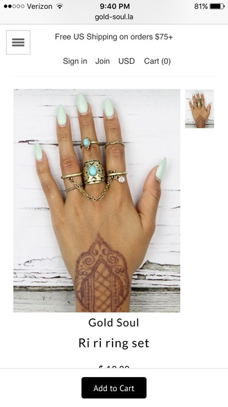 jewels ring ring set knuckle ring rihanna