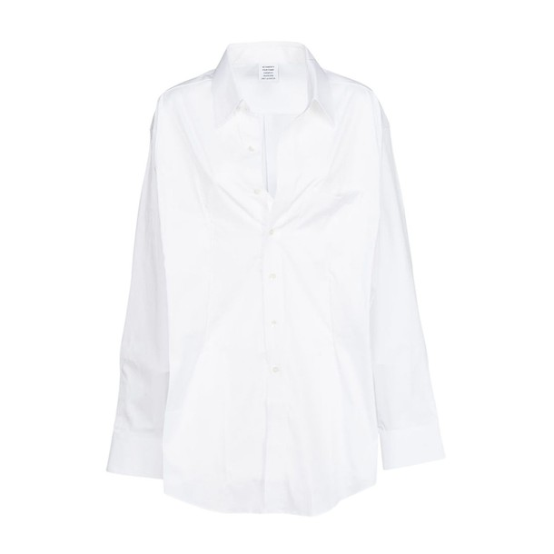 Vetements shirt white top