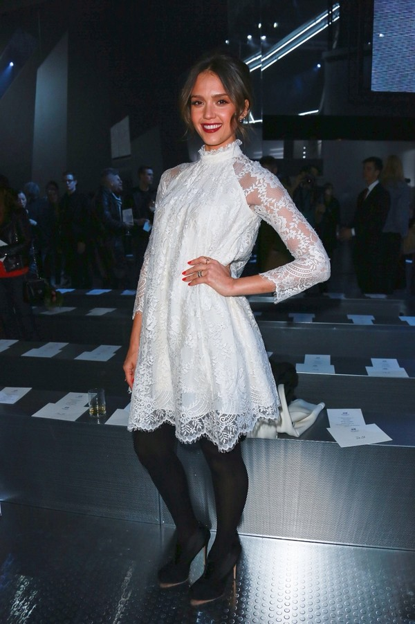 dress jessica alba white dress white lace dress short party dresses short evening dresses laces