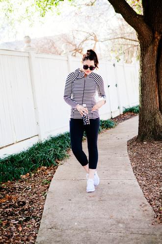 kendi everyday blogger jacket leggings sunglasses