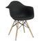 Sunset side chair black