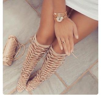 shoes heels strappy heels