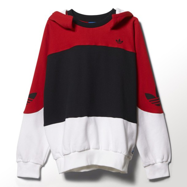 c49956e5ba26 Adidas Hoodie White And Red thehampsteadfactory.co.uk