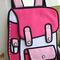 3d cartoon backpack