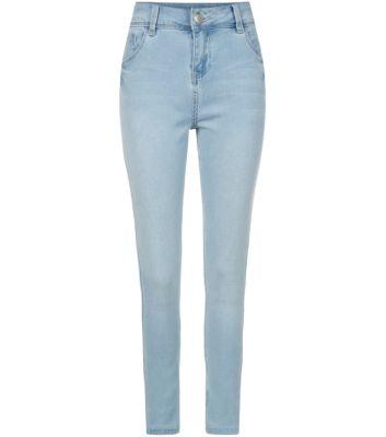 Teens Blue Jersey Skinny Jeans