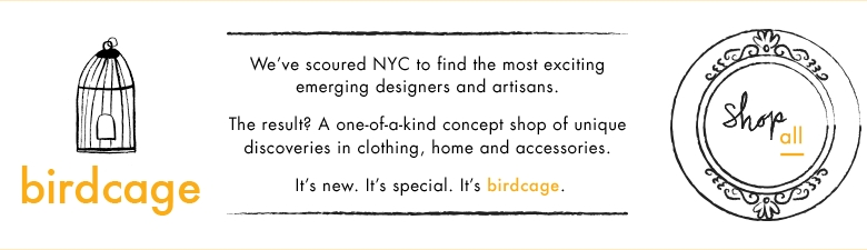 Emerging NYC Jewelry Designers | birdcage @ Lord & Taylor