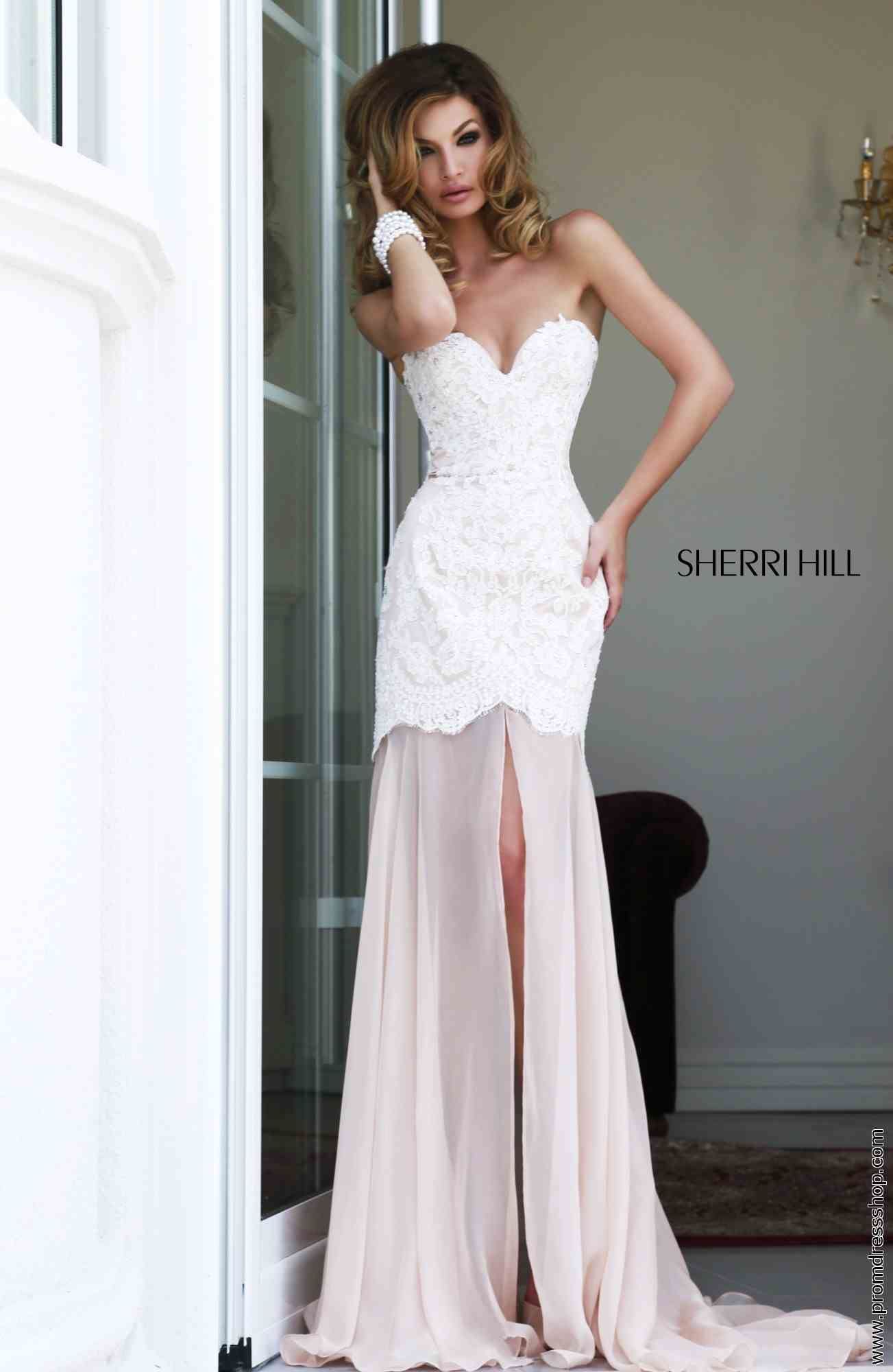 a7648c81df598 Sherri Hill Dress 21364 at the Prom Dress Shop