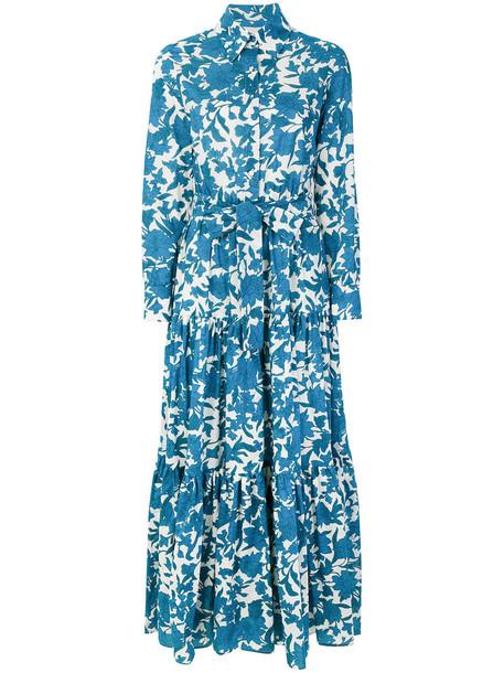 La DoubleJ dress women cotton blue