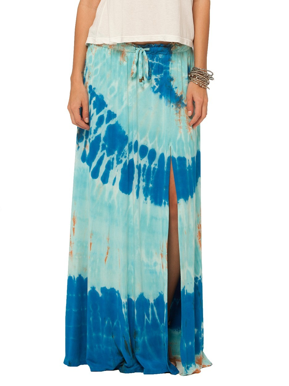 Gypsy05.Com - Official Website :: Shop Women Skirts & Shorts - Bandar Maxi Skirt W/ Slit