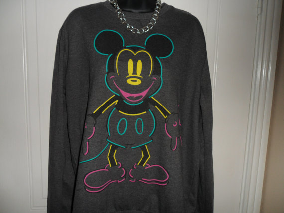 Unisex customised mickey mouse sweatshirt hoodie by mysticclothing