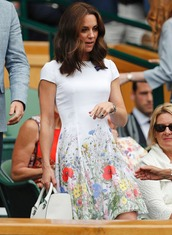 dress,floral,floral dress,flowers,kate middleton