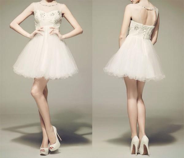 white white dress silver sequin dress sequins prom dress fashion formal dress cute dress fancy