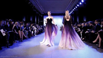 dress celebrity style project runway glitter black cute fashion love trends color brand celebrity name fabric tv show material pattern prom dress long prom dress purple prom dresses black prom dress ombre dress ombre purple midi dress bodycon jumpsuit