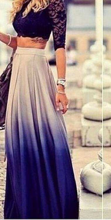Cute colorful fashion hot skirt