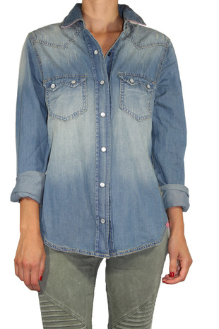 Denim Shirt - ShopFrankies.com