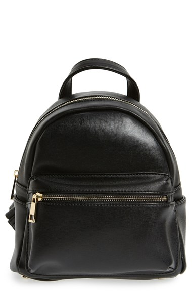 Sole Society 'Mini Sadie' Faux Leather Backpack | Nordstrom