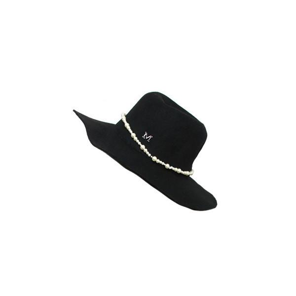 M pearl hat