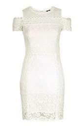 dress,clothes,lace,topshop,white lace dress,elegant dress,date dress