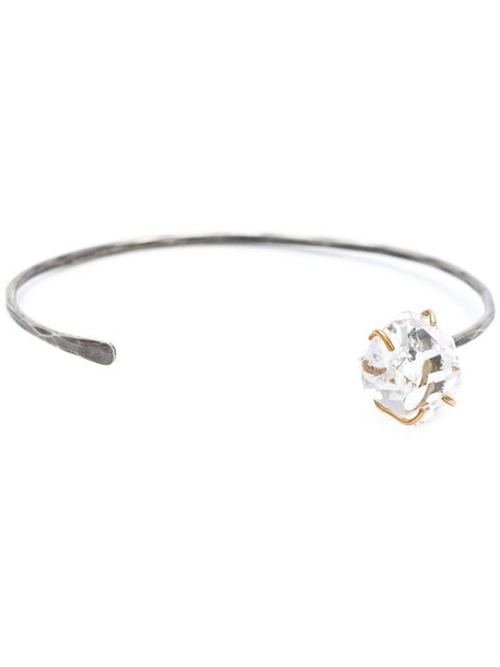 Melissa Joy Manning cuff women gold silver grey metallic jewels