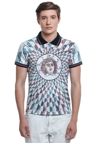 t-shirt full print t-shirt full print polo shirt all over print t-shirt art art print print polo shirt printed t-shirt menswear mens t-shirt