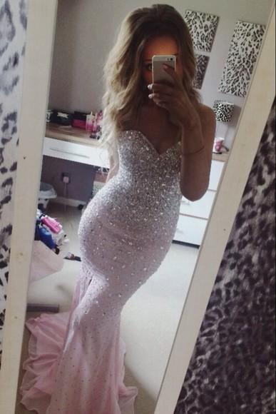 sequin dress gorgeous prom dress gown prom dresses 2014 girly elegant pink dress prom dress 2014,prom dresses,ball gown dress, evening dress elegant dress FIND IT helpmetofindit