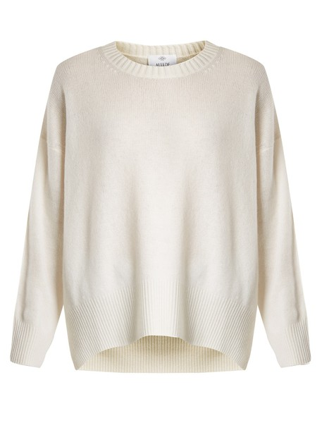Allude sweater cream