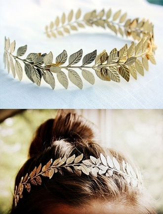 jewels leaves leaf headband vine vine headband leaf/design hipster wedding headband wedding accessories wedding hairstyles hair accessory gold bohemian cute accessory hat gold feather headband greek goddess greek gold headband