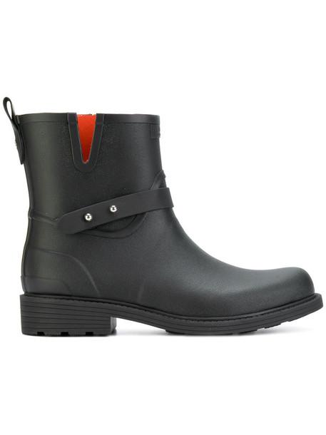 Rag & Bone women leather black shoes