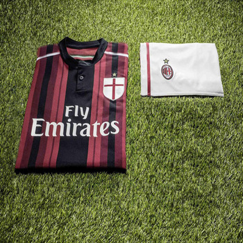 ea21b3b1d Aliexpress.com   Buy Free Shipping! New Style 14 15 AC Milan soccer jerseys  home and away   TORRES HONDA Men sportswear football club uniforms from  Reliable ...